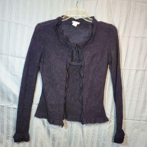 💛Oscar de la Renta blue 2 pc. Sweater set sz. M